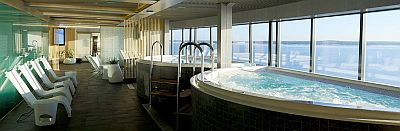 Viking Grace Wellness Spa Viking Line Turku Tukholma sauna allas